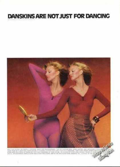 Danskins Not Just for Dancing Leotards Fashion (1975)