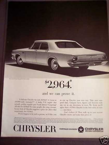 Chrysler Newport 4-door Sedan Classic Car (1963)