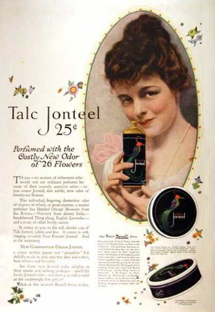 Jonteel Talcum Powder (1918)