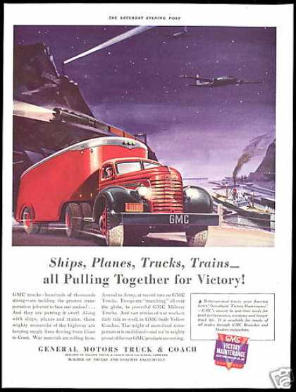 GMC Trucks WWII Victory Train Plane (1942)