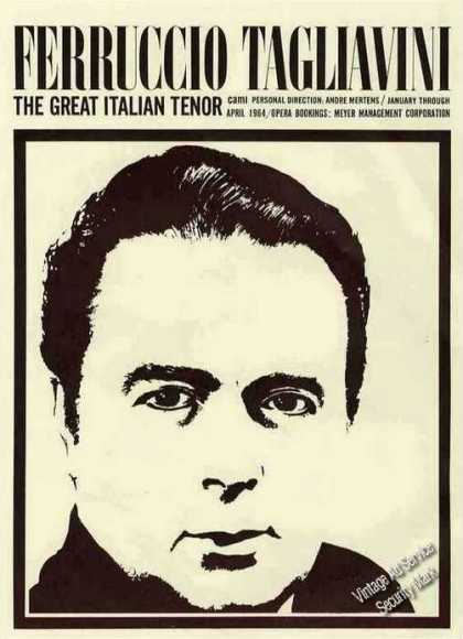 "Ferruccio Tagliavini ""The Great Italian Tenor"" (1963)"