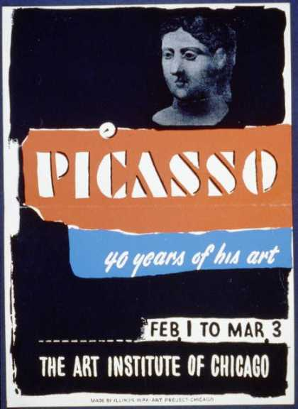 Picasso – 40 years of his art. (1936)
