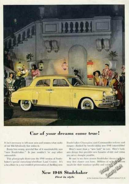 "Studebaker ""Car of Your Dreams Come True!"" (1948)"
