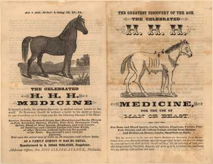D. Dodge Tomlinson's H. H. H. Medicine – H. H. H. Medicine for the Use of Man or Beast