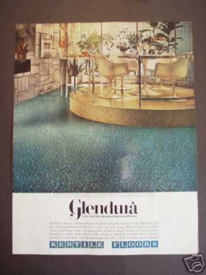 Kentile Floors Glendura Retro Decor (1968)