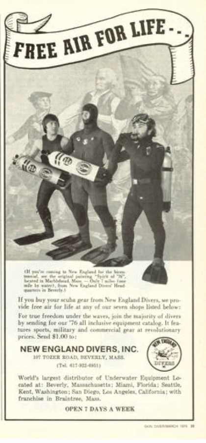 New England Divers Spirit of '76 (1976)