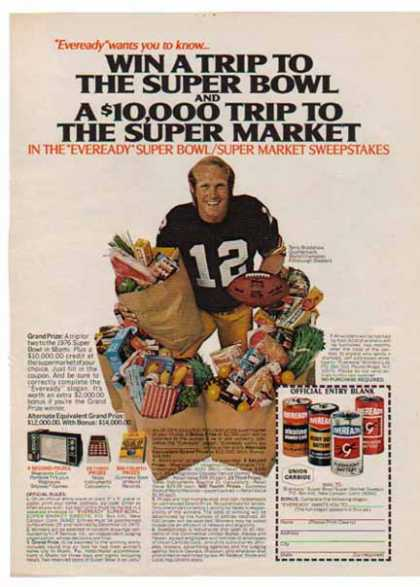 Eveready Battery – Terry Bradshaw (1975)