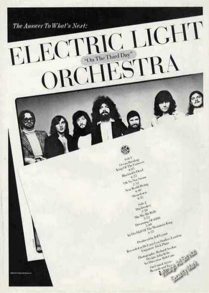 "Electric Light Orchestra ""On the Third Day"" (1974)"