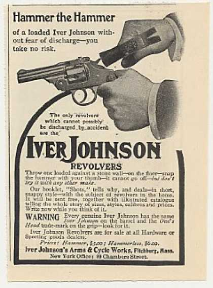 Iver Johnson Revolver Hammer the Hammer (1905)
