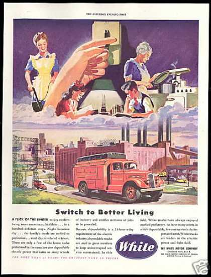 White Motor Co Power & Light Service Truck (1946)