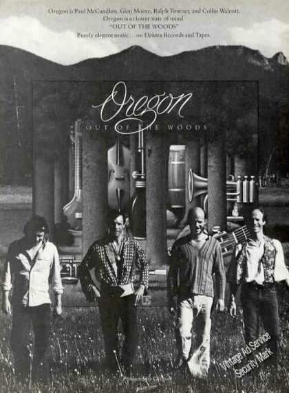 "Oregon Group Photo ""Out of the Woods"" Album (1978)"