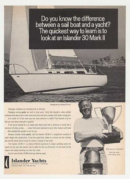 Islander 30 Mark II Yacht Boat Photo (1971)