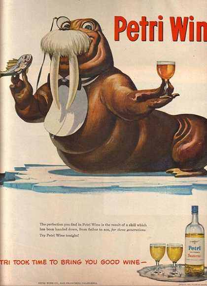 Petri's California Wine (1948)