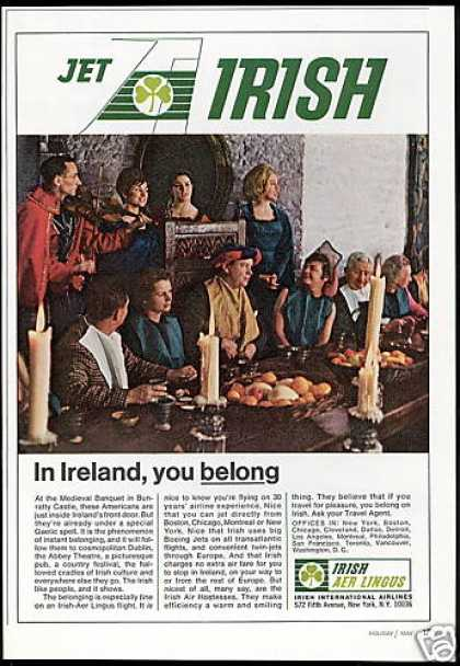 Irish Aer Lingus International Airlines (1967)