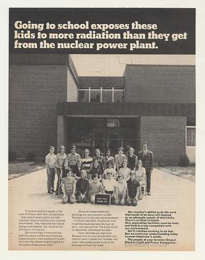 '72 Ontario NY Middle School Class 7-5 Nuclear Power (1972)