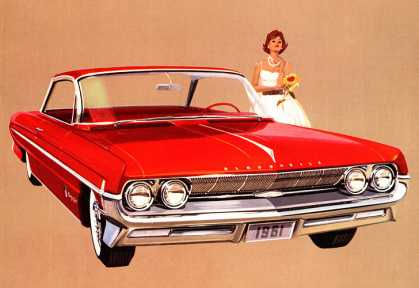 Olds 98 Holiday Coupe (1961)