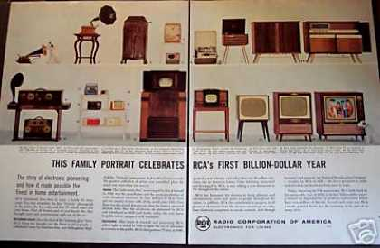 Rca Radio Tv Phonograph Billion Dollar Year (1956)