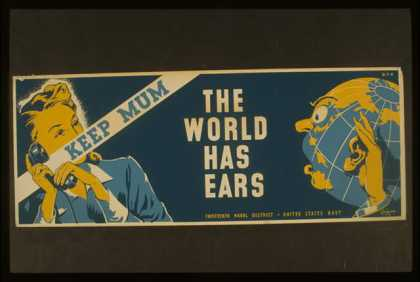Keep mum – the world has ears / Grigware. (1941)