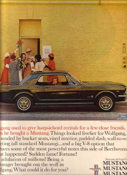 Ford's Mustang/ Cobra (1965)