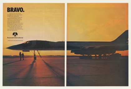 Rockwell US Air Force B-1B Aircraft (1983)
