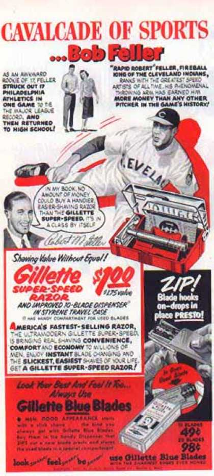 Gillette – Cavalcade of Sports – Bob Feller (1951)