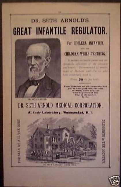 Dr Seth Arnold&#8217;s Infantile Regulartor Medicine (1881)