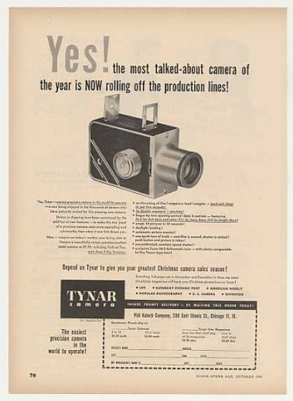 Phil Kalech Co Tynar Camera (1949)