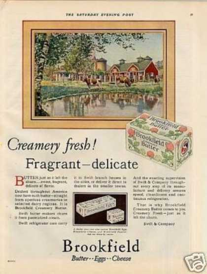 Swift Brookfield Butter (1928)