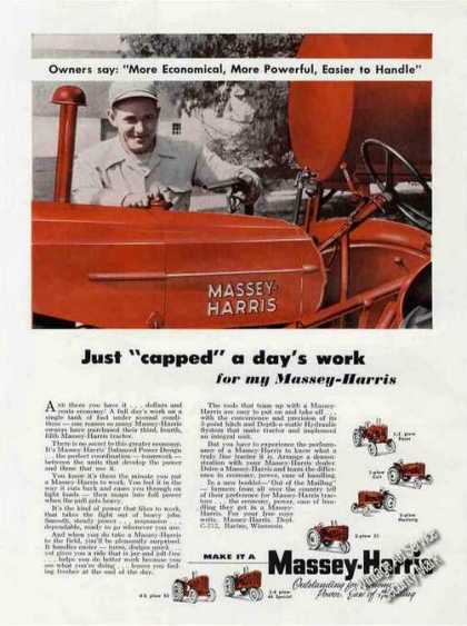 Massey-harris Tractors Farm (1955)