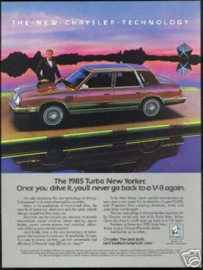 Ricardo Montalban Photo Chrysler New Yorker (1985)