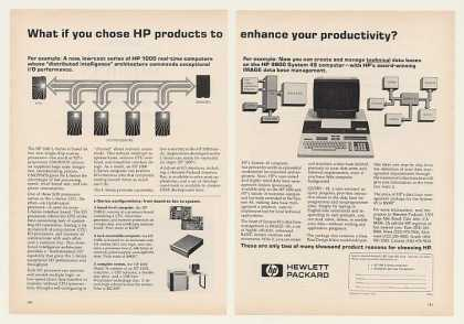 Hewlett-Packard HP 1000 L-Series Computer (1980)