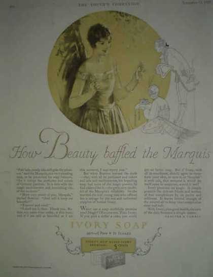 Ivory Soap How Beauty Baffled the Marquis AND Knapp Electric Toys (1925)