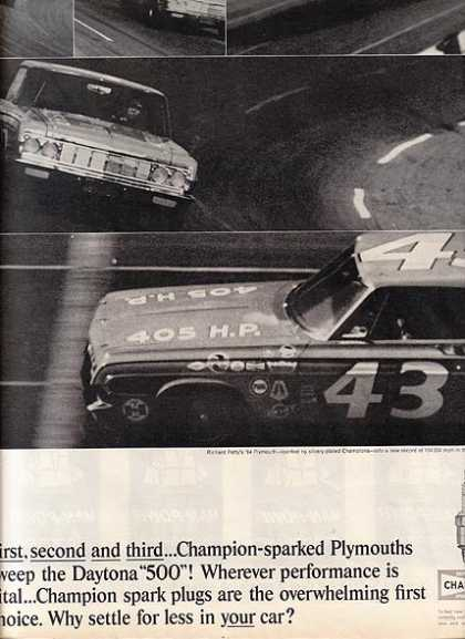 Champion's NASCAR Daytona 500 race (1964)