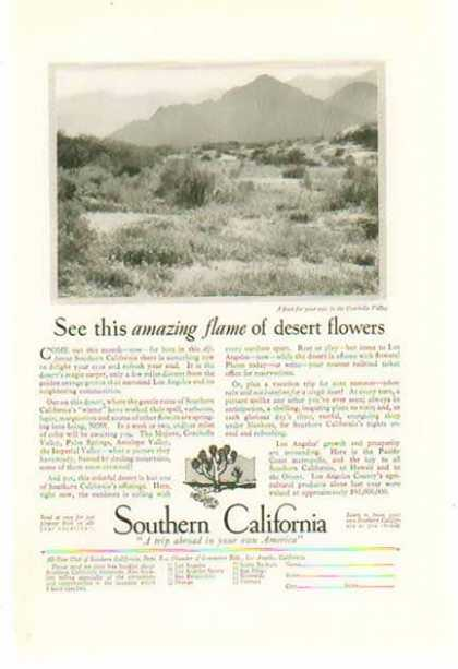 Southern California Travel – Coachella Valley (1928)