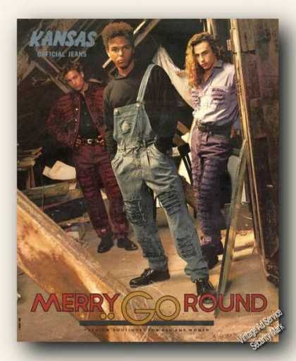 Kansas Official Jeans Merry Go Round Fashion (1990)