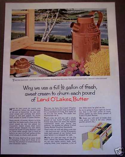 Original Land O' Lakes Butter (1958)