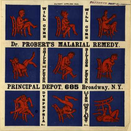 Dr. Robert's Malarial Remedy's Malarial remedy – Dr. Probert's Malarial Remedy