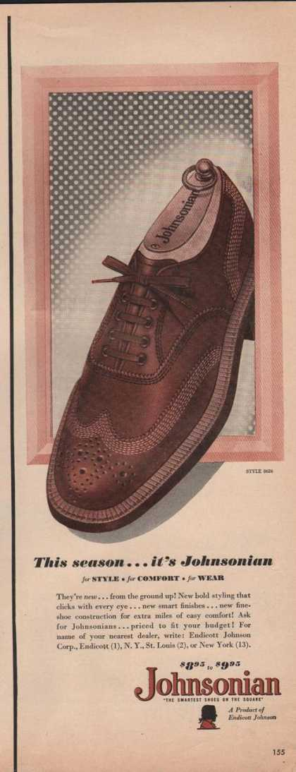 This Season Johnsonian Mens Dress Shoe (1949)