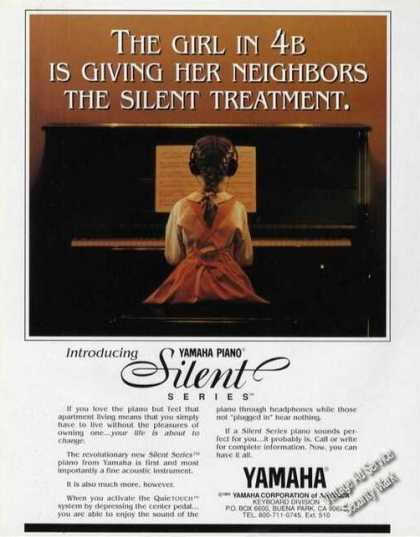 Yamaha Piano Silent Series Introduction (1996)