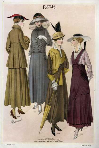 Le Costume Royal, USA (1915)