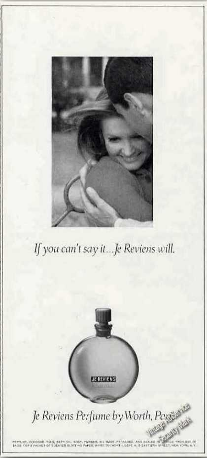 Je Reviens Perfume By Worth Paris (1967)