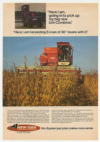 New Idea 717 Uni-Combine Photo (1974)