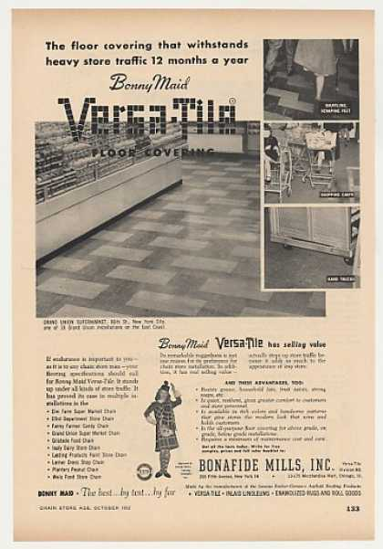 Grand Union Market NYC Bonny Maid Versa-Tile (1952)