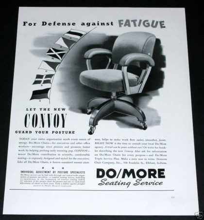 Do/more, Convoy Seating, Chairs (1941)