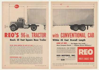 Reo Model A-603 Tractor Trailer Truck (1957)