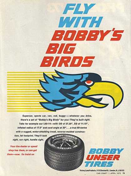 Bobby Unser's Big Birds (1973)