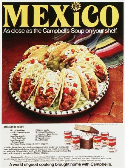 Campbell's Mexico