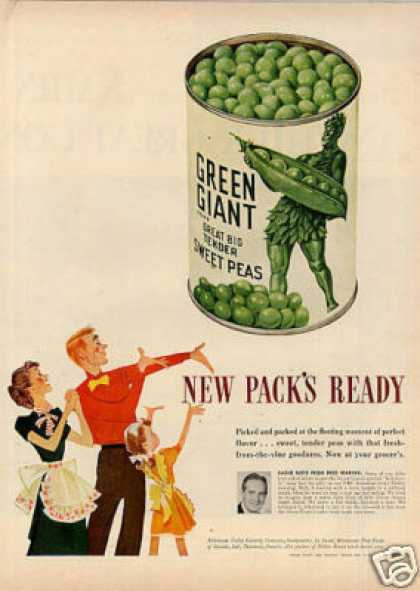 Green Giant Peas (1948)