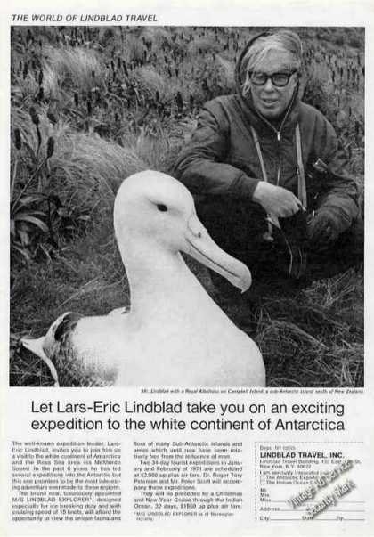 Lars-eric Lindblad Photo Royal Albatross (1970)