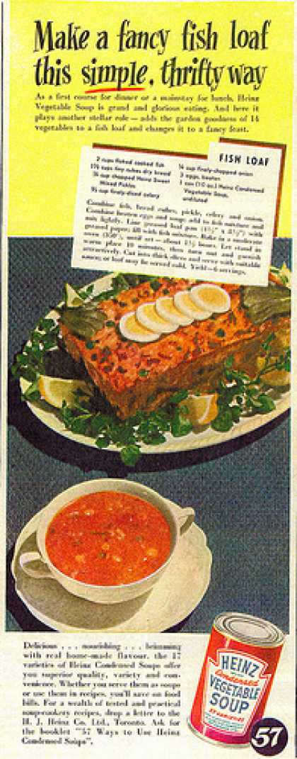 Vintage Food Advertisements Of The 1940s Page 12